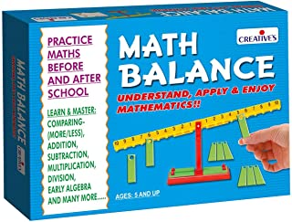 Creative's Math Balance-Learn and practice Addition, Subtraction, Multiplication and Division