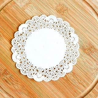 """6.5/"""" Party DOILY Creux Fleur dentelle de papier de cuisine gâteau de mariage sous-verres 140pcs"""