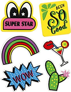 Soft Stickers, sheet 12,2x17,75 cm, Super Star, 1sheet