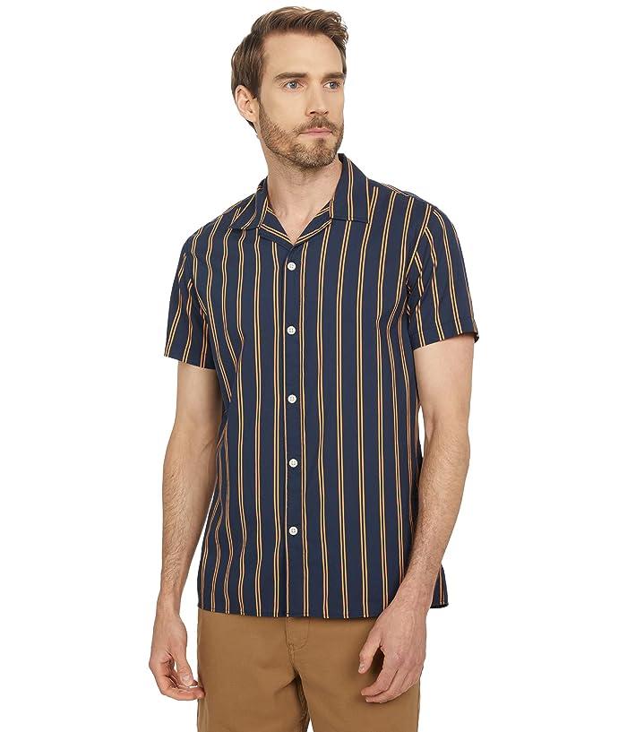 1950s Mens Shirts | Retro Bowling Shirts, Vintage Hawaiian Shirts Selected Homme Joel Short Sleeve Camp Shirt $70.00 AT vintagedancer.com