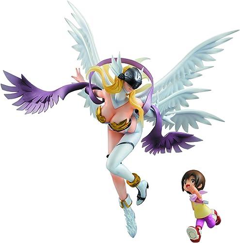 barato y de alta calidad Digimon Adventure Serie G.E.M. Estatua PVC Angewomon Angewomon Angewomon & Hikari 19 cm  comprar barato