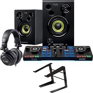 Hercules DJ Starter Kit with DJ Control Starlight, DJMonitor 32, HDP DJ M40.1 Headphones, & Serato DJ Lite + On-Stage Comp...
