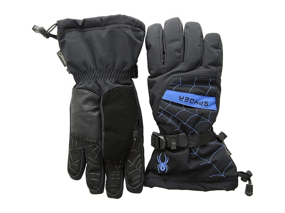 Spyder Overweb Gore-Tex(r) Ski Glove (Black/Turkish Sea) Over-Mits Gloves