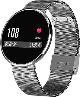 DLIBIG Smartwatch con Pulsometro IntegradoReloj Inteligente Android,Pulsera Actividad Inteligente para Deporte, Reloj Iinteligente Hombre Mujer niños,Podómetro Cronómetros