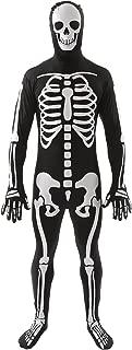 Orion Costumes Unisex Skeleton Skin Suit Bones Halloween Fancy Dress Costume