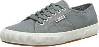 Superga Womens 2750 Cotu Classic Grey Canvas Trainers 40 EU