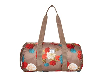 Herschel Supply Co. Packable Duffel (Vintage Floral Pine Bark) Duffel Bags