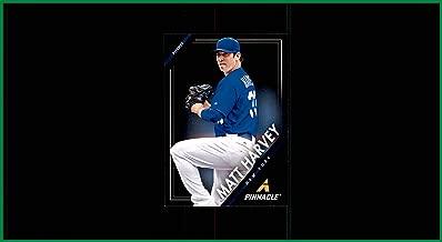 2013 Panini Pinnacle Baseball Card #23 Matt Harvey Batman NEW YORK METS