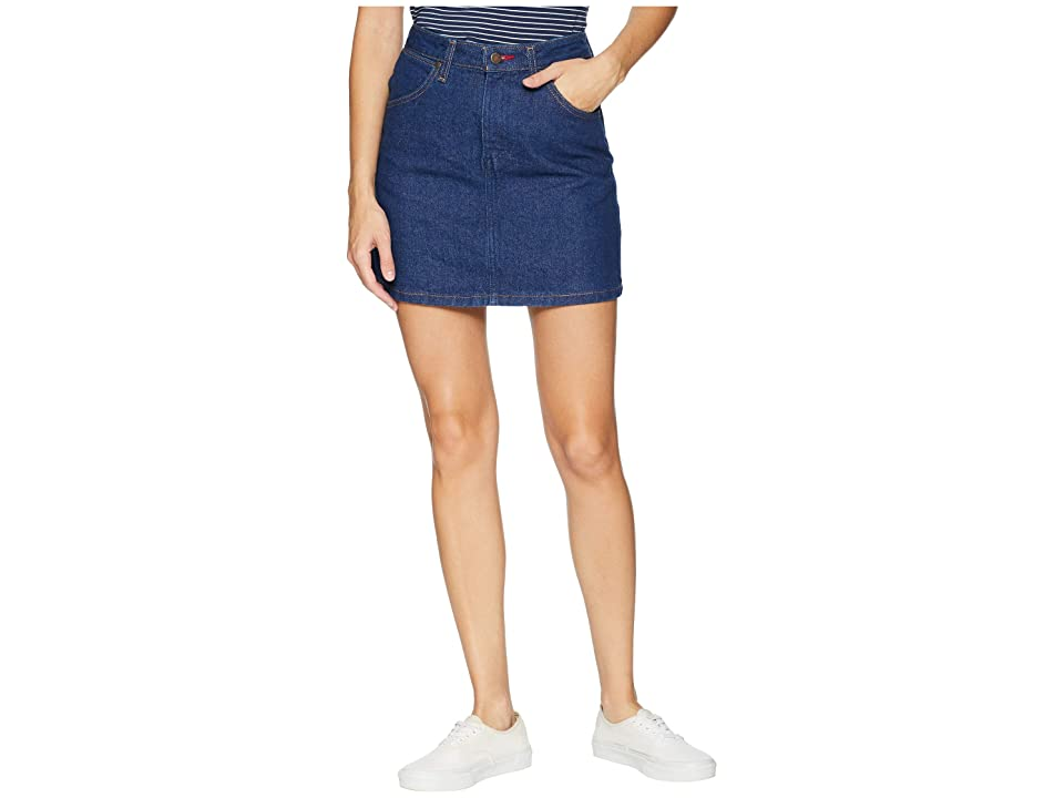 Vans Wrangler Skirt (Pre Washed Indigo) Women