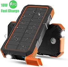 Best solar mobile power bank Reviews