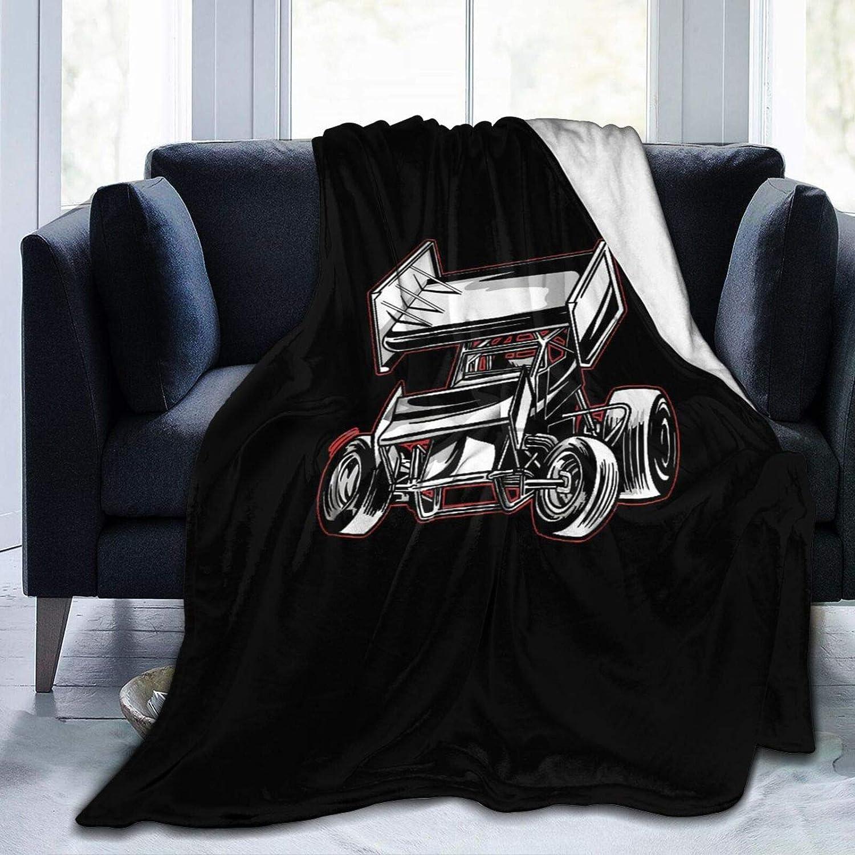 Needlove Offroad Rally Sprint Car 受賞店 Ultra Blanket Suitable Throw 流行のアイテム S