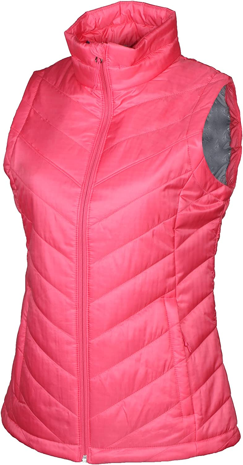 Columbia Women's Morning Light III Omni Heat Vest Camellia pink