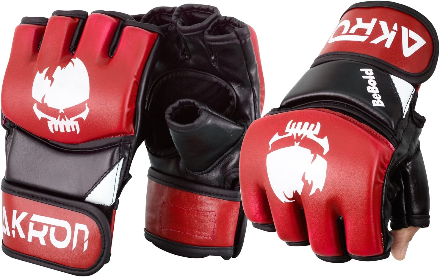 Akron UFC 4 years warranty Grappling Cage Fight Gloves Nashville-Davidson Mall Training Boxing Punchi MMA