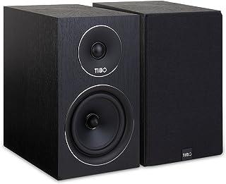 TIBO Harmony 4 | Passive Hi-Fi Bookshelf Speakers | 150W | Black