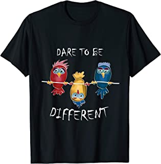 Dare to be different   Gay Rebel Autism Unique Rainbow