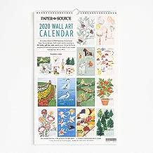Paper Source 2020 12 Month Wall Calendar, 12 1/4