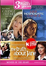 Three Movies of the Heart: (Change of Heart / Her Desperate Choice / The Truth About Jane)