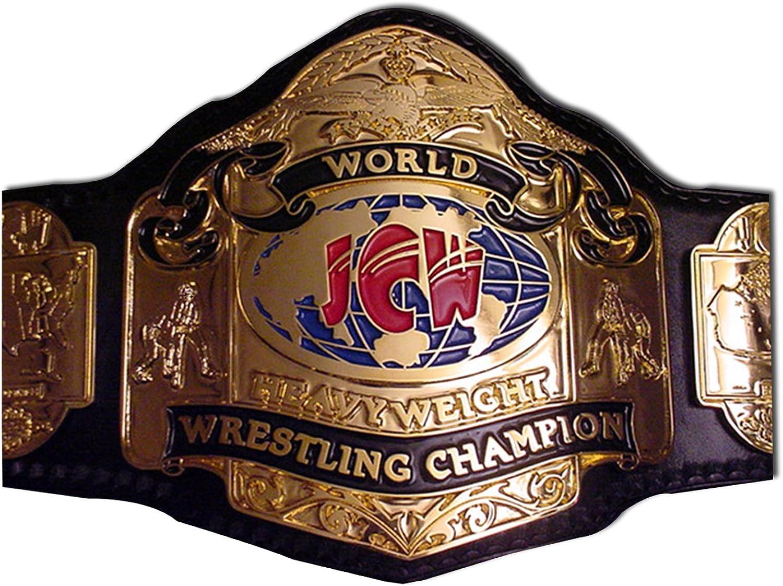 Haiosports JCW World Heavyweight Wrestling Championship Replica Belt