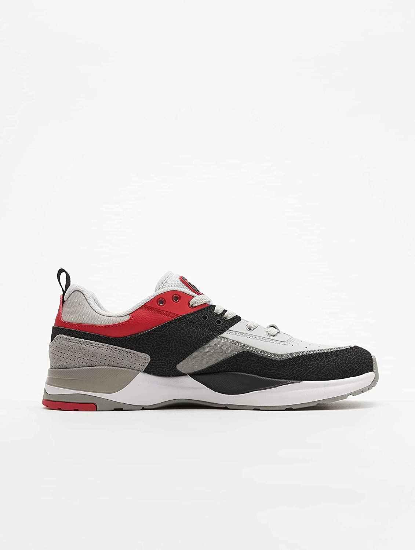 DC E.Tribeka Black/Athletic Red/Battleship Black/Athletic Red/Battleship