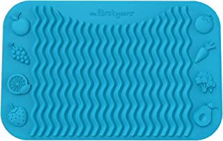 The First Years Finger Foods Placemat, Blue