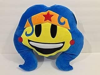 Six Flags Magic Mountain DC Comics Emoji Wonder Woman Big Pillow Plush
