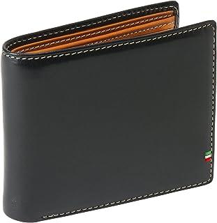 [ゴルベ] イタリアンレザー 二つ折り 財布 メンズ スマートモデル (名入れ可)