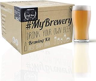#Cervezanía Kit de Brassage Tout Grain. Style Pale Ale. Matériaux réutilisables. Houblon Frais en pellets. 8 étapes Simples.