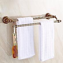 Fokky Handdoekenrek stang badhanddoekhouder handdoekstang handdoekhouder roestvrij staal badkamer houder handdoek haak ant...