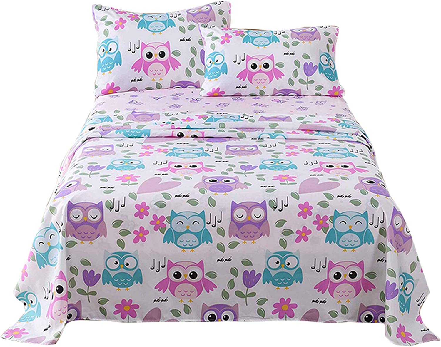 MarCielo Popular brand Bed Sheets for Kids Boys Girls Tee Full Max 68% OFF