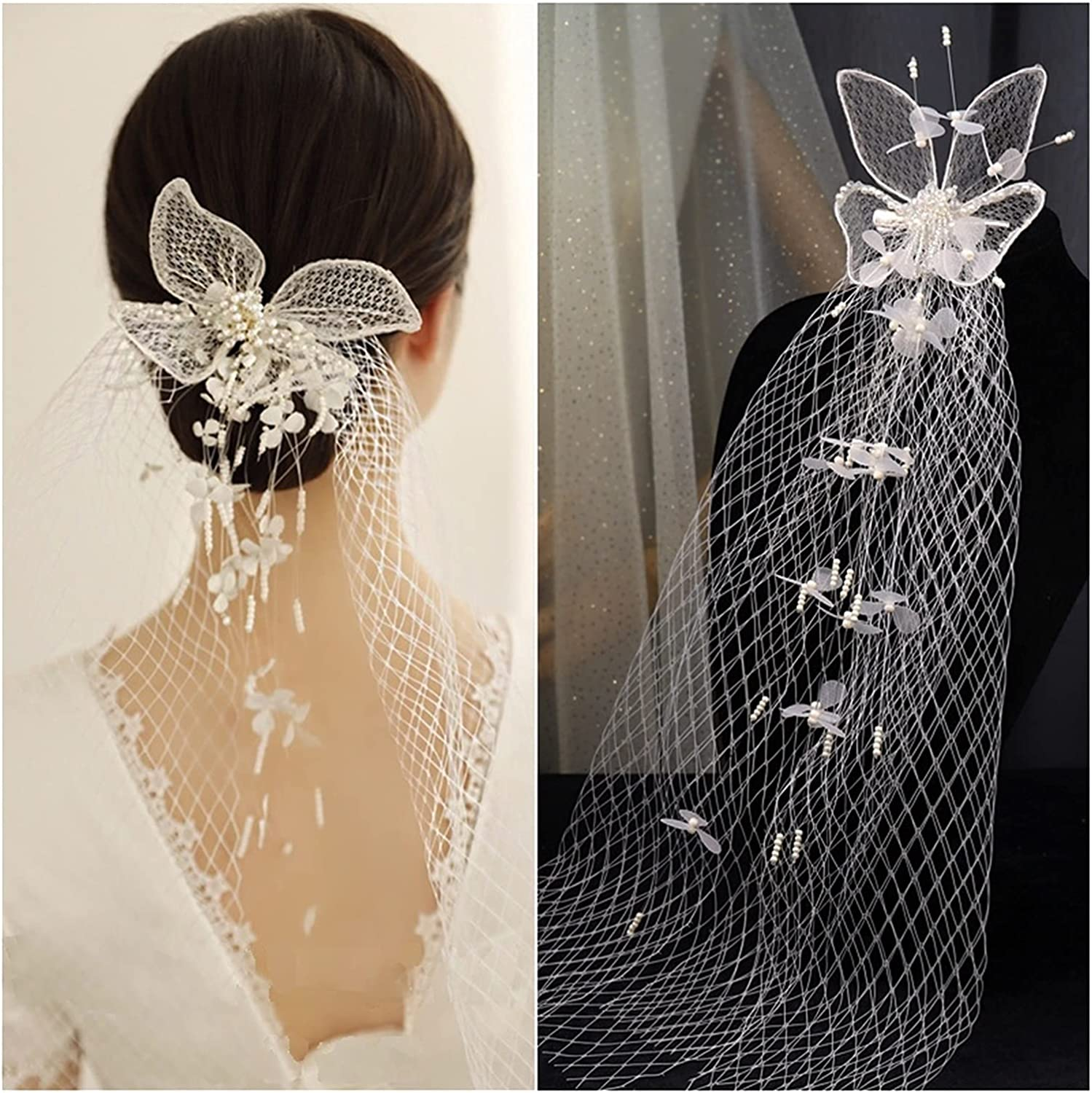 xunyang Korean Style Beautiful Mesh Veil Silk Three-Dimensional Directly managed store Super special price