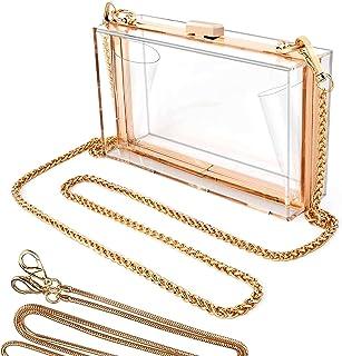 Clear Purse for Women, Clear Crossbody Bag, Clear Stadium Purse Handbags, Woman Cute Transparent Acrylic Shoulder Bag Clea...