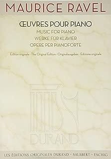 ravel piano score