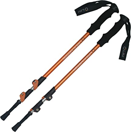 featured product Pair of Life In Motion Trekking/Hiking/Walking Poles (Sticks), Durable, Lightweight, Collapsible/telescoping.