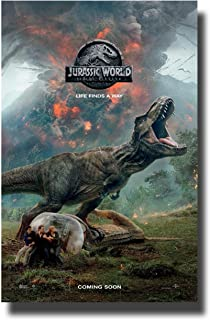 Jurassic World 2 Fallen Kingdom Poster Movie Promo 11 x 17 Roar
