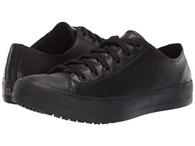 Shoes for Crews Delray (Black Leather) Women