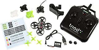 Rage RC RGR4300 4300 Triad FPV 3-in-1 Pocket Drone Ready to Fly Quadcopter, Green