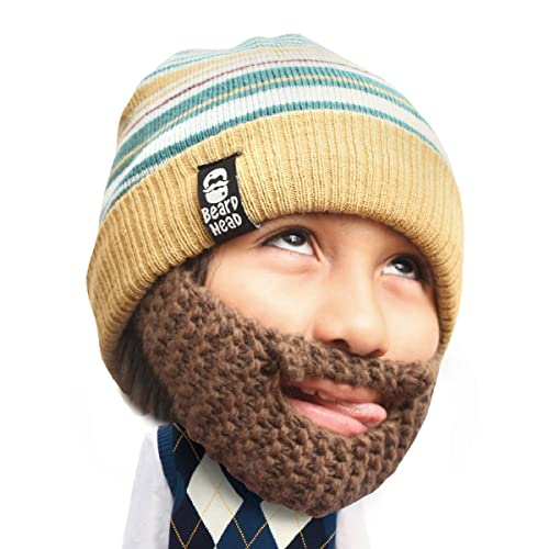 f31968ef4dc Beard Head Kid Roro Beard Beanie - Knit Hat and Fake Beard for Kids and  Toddlers