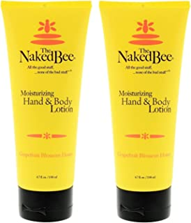 The Naked Bee Grapefruit Blossom Honey Hand and Body Lotion, 6.7oz - 2 Pack