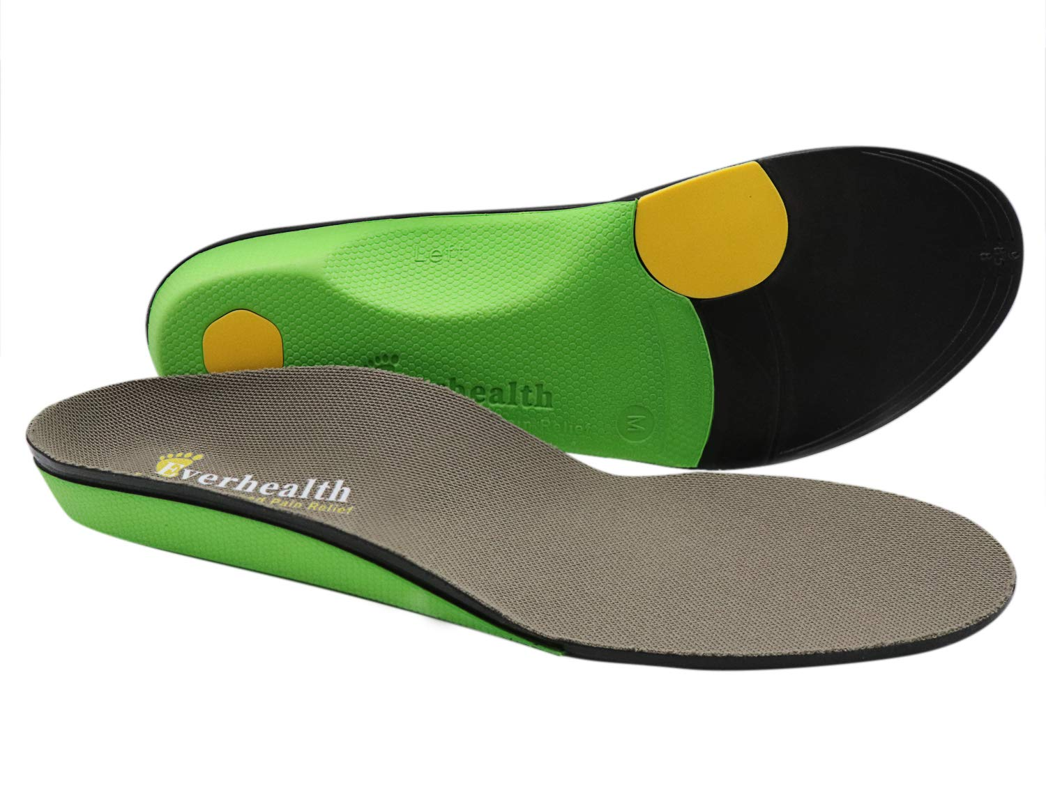 EVERHEALTH High Arch Support Insoles