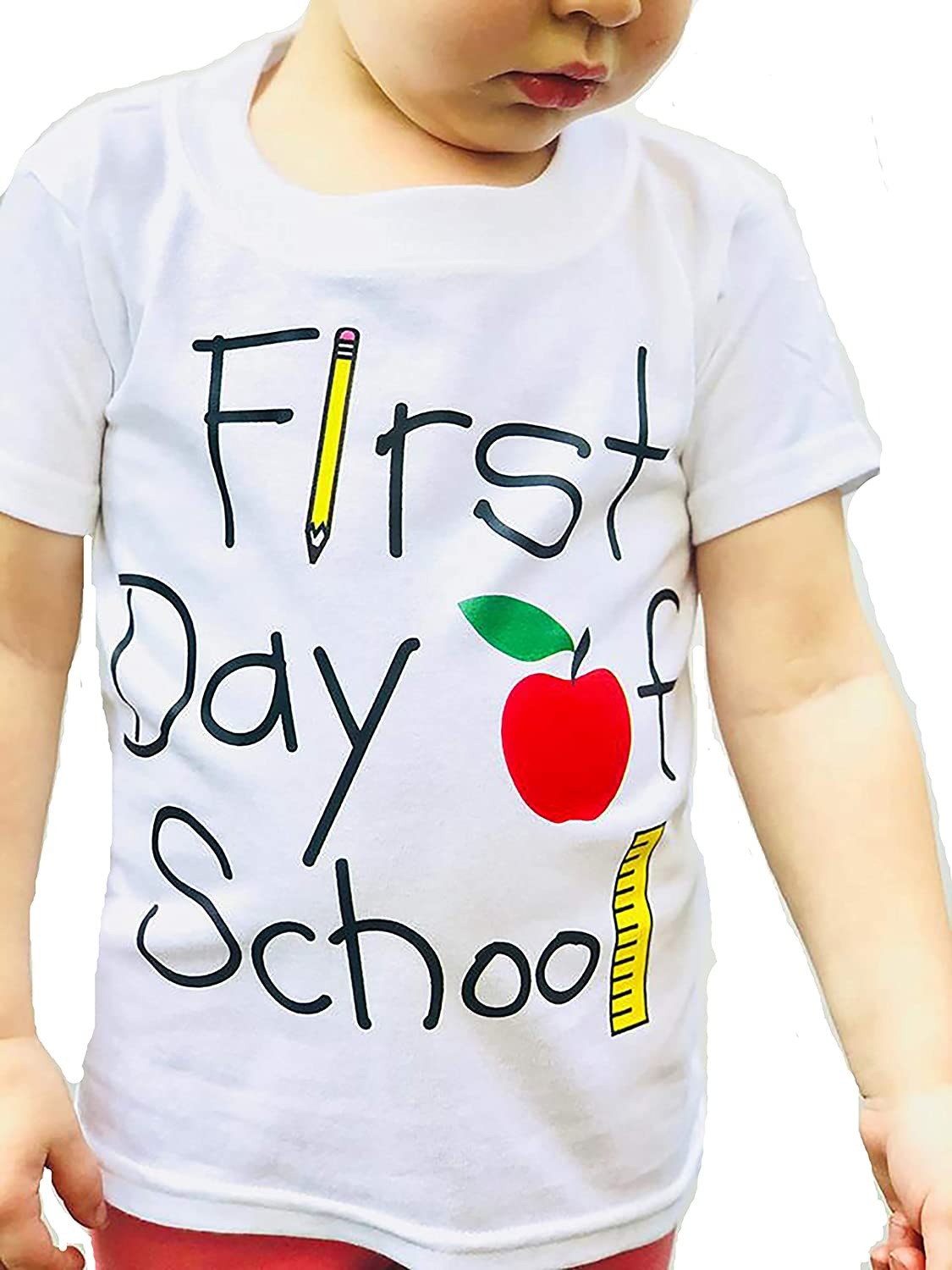 First Day of School Shirt Back Trust T-Shirt Toddler Welco to Soldering