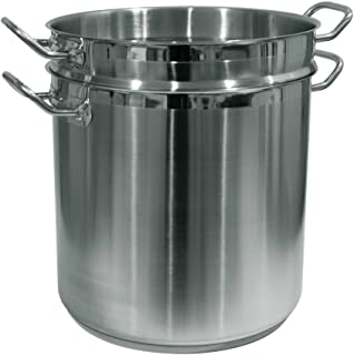Best Update International SPSA-20 Paste Cooker, 20 Quart, Silver Review