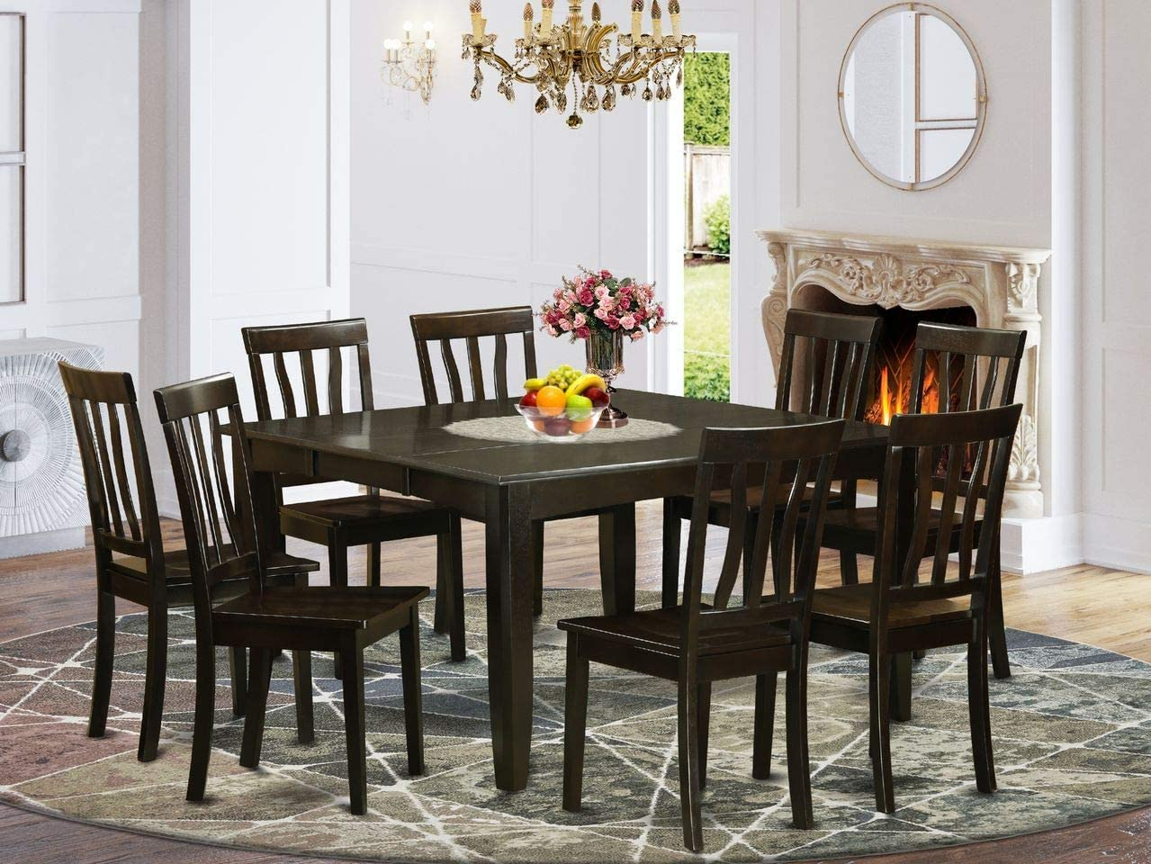 9 Pc Dining room set - Dinette Cha Table and Cheap Miami Mall SALE Start 8 with Kitchen Leaf