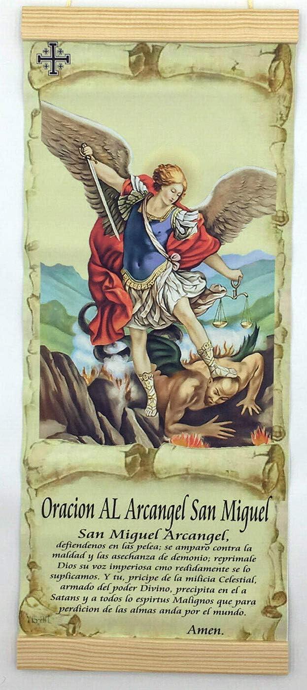 Oracion Al Arcangel San outlet Miguel Prayer Michael St Archange Outlet sale feature to The