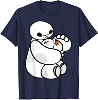 Disney Big Hero 6 Baymax Cat Cute Portrait T-Shirt