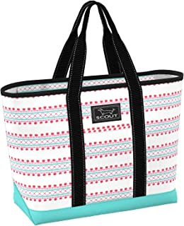 La Bumba Tote Bag, Slim Profile Utility Beach Bag or Pool Bag for Women (Multiple Patterns Available)
