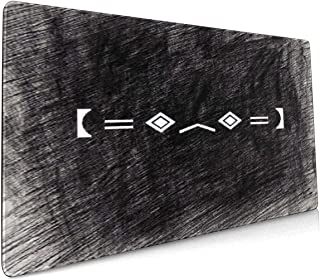 Millezheng Porter-Robinson-Logo-EDM Large Long Mousepad Gaming Mouse Pad,Waterproof Keyboard Pad Thick Extended Mat for Office/Home&Gamer