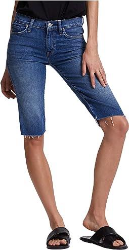 Amelia Cutoffs Knee Shorts in True Colors