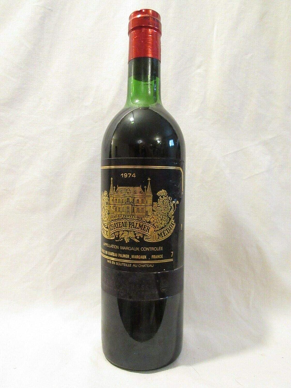 margaux château palmer grand cru classé (b3) rouge 1974 - bordeaux