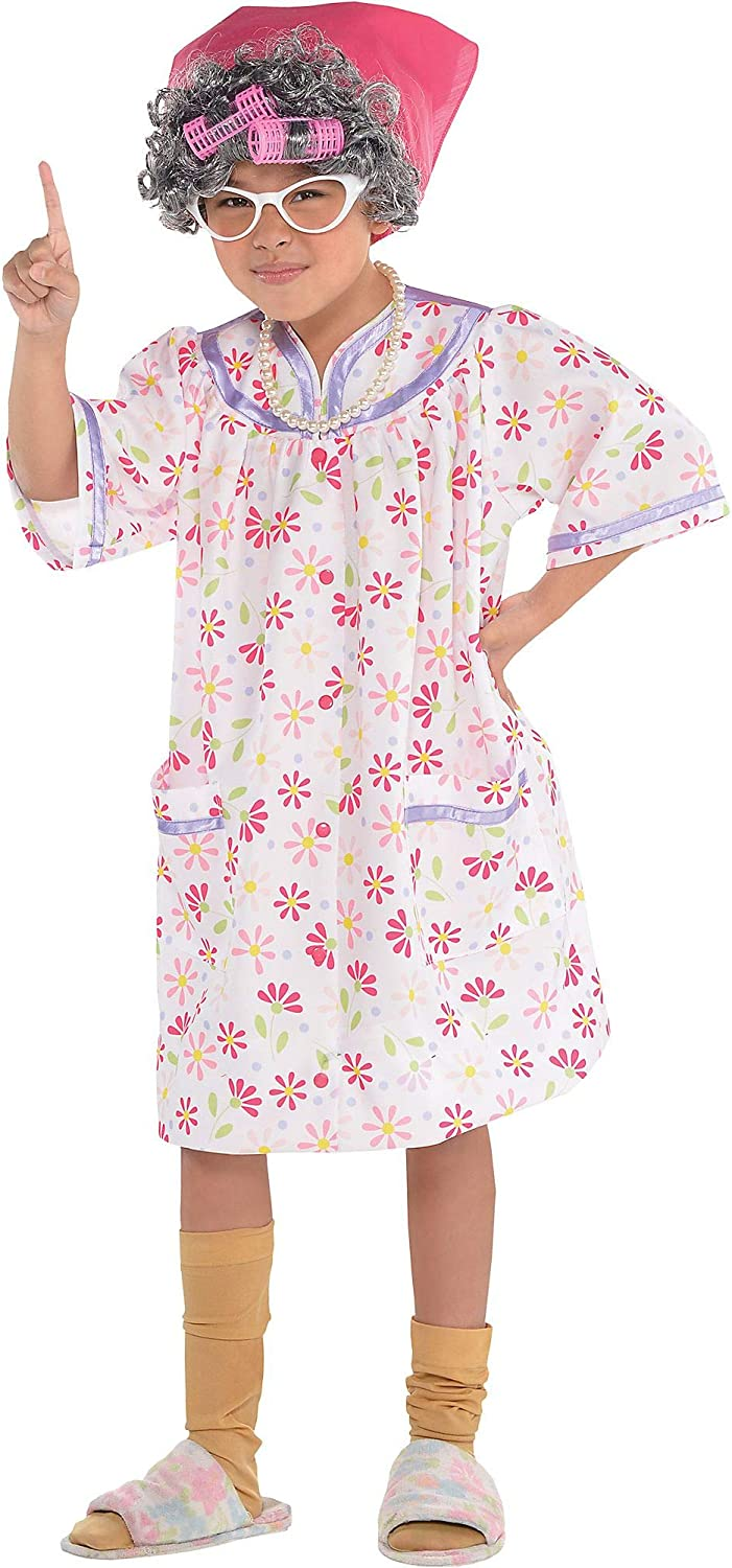 Amscan Special Campaign Little Old Outstanding Lady Child Costume