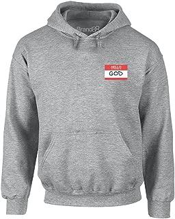 my name is god hoodie